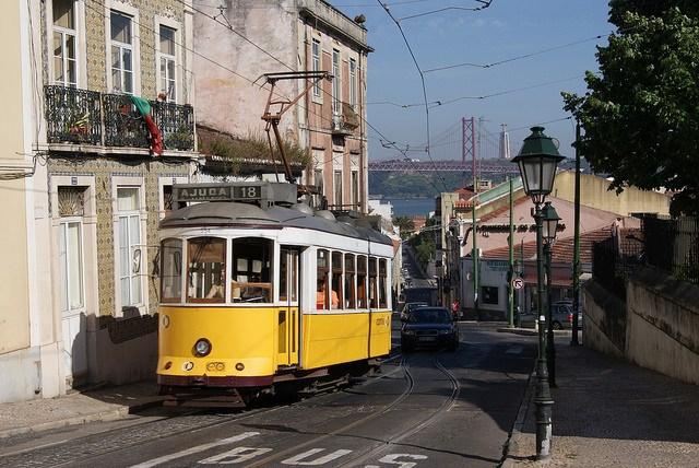 by Alain Gavillet, flickr user trams-lisbonne