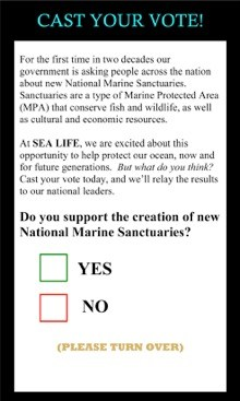 SeaLife ballot