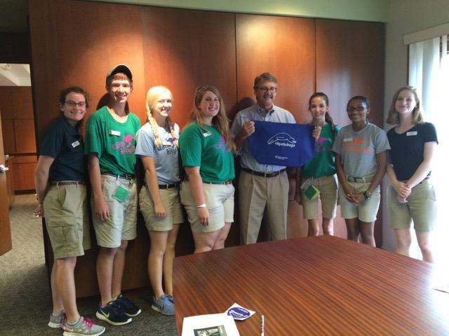 Teens with Dr. Jeffrey Bonner