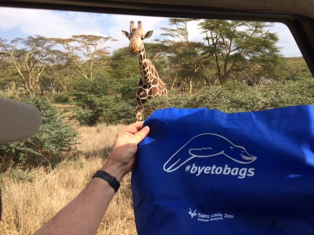#byetobags spreading to Africa
